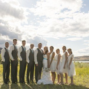 Dustin & Brooke's Magical Kamloops Wedding