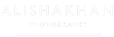 Alisha Khan Wedding Photography White Logo